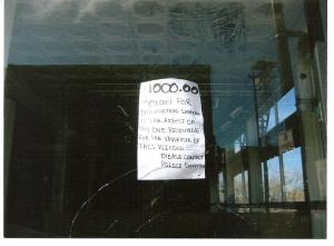 Reward offered for information on vandalism to Park 6